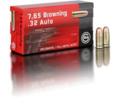 7,65 Browning 4,75 g Vollmantel Rundkopf Pack=50 Stück