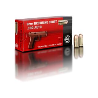 9 mm Browning Court 6,15 g Vollmantel Rundkopf Pack=50 Stück