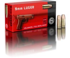9 mm Luger 10,0 g Vollmantel Flachkopf Pack=50 Stück