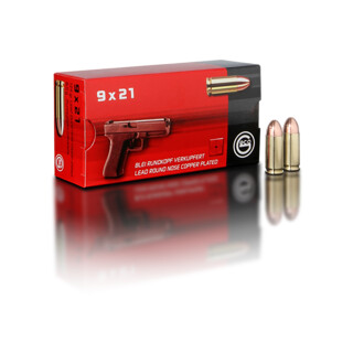 9 x 21 8,0 g  Blei-Rundkopf, verkupfert Pack=50 Stück