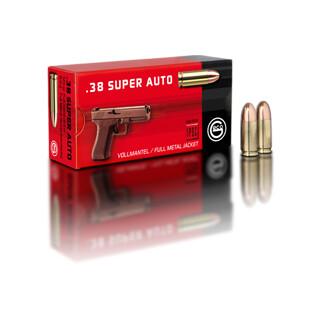 .38 Super Auto 8,0 g Vollmantel Rundkopf  Pack=50 Stück