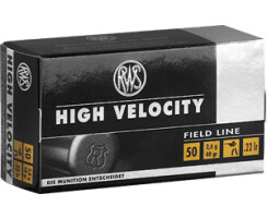 RWS .22 lfB High Velocity  pro Pack=50 Stück