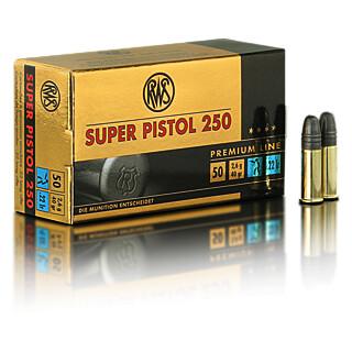 RWS Super Pistol 250 .22lfb pro Pack=50 Stück