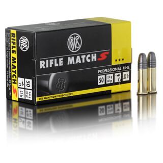 RWS Rifle Match S .22lfb pro Pack=50 Stück