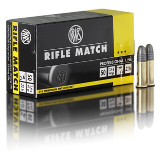 RWS Rifle Match .22lfb pro Pack=50 Stück