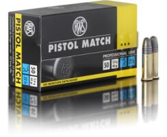 RWS Pistol Match  .22lfb pro Pack=50 Stück