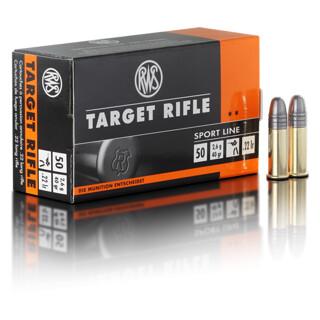 RWS Target Rifle  .22lfb pro Pack=50 Stück