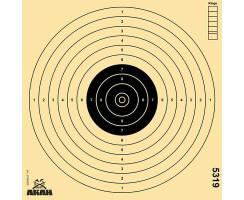 AKAH Luftpistolen-Scheibe 17x17cm