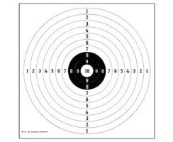 DJV-Gewehrscheibe 109