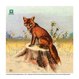 DJV-Scheibe Nr.3 Fuchs