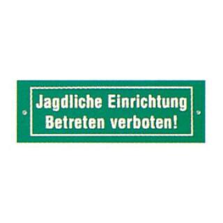 """Schild """"Jagdliche Einrichtung"""""""