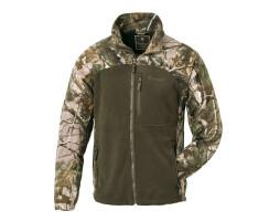 Pinewood Fleece Jacke Oviken Realtree - APG/grün  XL