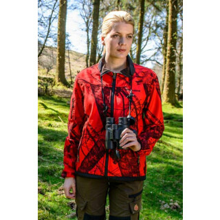 SHOOTERKING Softshelljacke MOSSY-RED für Damen