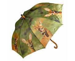 4er Set jagdliche Schirme sortiert