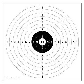 Spiegel für DJV-Gewehrscheibe 109