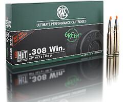 RWS .308 WIN HIT bleifrei 10,7G  pro Packung=20 Stück