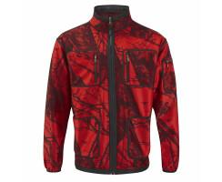 MOSSY-RED Softshell-Jacke für Herren Gr. L(6)
