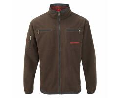 MOSSY-RED Softshell-Jacke für Herren Gr. XXL(8)