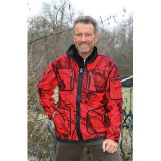 MOSSY-RED Softshell-Jacke für Herren Gr. 5XL(11)