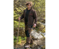 SHOOTERKING Jagdhose mit elastischem Cordura für Herren 2-farbig Gr.  M(50)