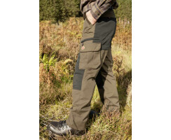 SHOOTERKING Jagdhose mit elastischem Cordura für Herren 2-farbig Gr. XL(54)