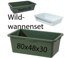 Wildwanne Set 3-teilig