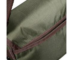 Jagdtasche -Tasche für Outdoor & Freizeit mit klassischen Lederbesätzen mit viel Stauraum für allerlei Utensilien Wald & Forst