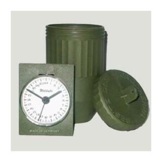 Jagd Wilduhr mit 24 Stundenanzeige Made in Germany Clock Neu und OVP m. Batterie