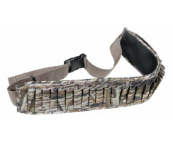 Patronengürtel Camo für 25 Schrotpatronen Kal. 12 für Entenjagd, Krähenjagd und Treibjagd