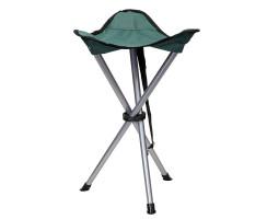 Dreibeinsitzstuhl grün - Praktisch für nahezu jeden Outdoor Einsatz geeignet