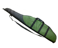 Futteral schwarz/grün Wald und Forst Gewehrfutteral für Langwaffen mit Zielfernrohr, abschließbar