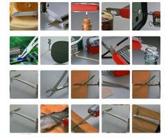 Taschenmesser 91mm mit 18 Teile 36 Wekzeuge Camping/Outdoor Messer