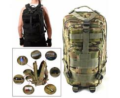 Taktischer Rucksack 30L für Outdoor, Survival,...