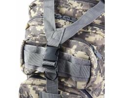 Taktischer Rucksack 30L für Outdoor, Survival, Trekking, Paintball, Jagd, Wandern, Sport mit viel praktischen Taschen