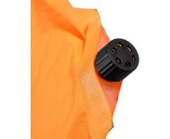 Sitzkissen selbstaufblasend, orange für Jagd Angeln...