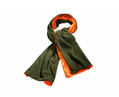 Wendefleeceschal Signalschal in Olive und Realtree orange...
