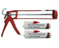 Buchenholzteer in der Kartusche 310ml inklusive...