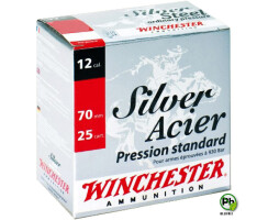 WINCHESTER Silver Stahl 12/70