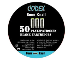 CODEX Platzpatronen 8mm Knall