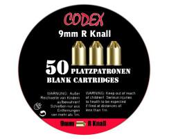 CODEX Platzpatronen 9x17R Knall