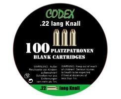 CODEX Platzpatronen .22 Knall