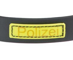 AKAH Schnallhalsband BIOTHANE Schwarz