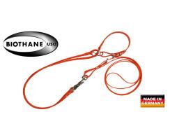 AKAH BioThane® Umhängeleine mit Halsung 19mm