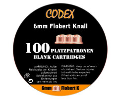 CODEX Platzpatronen 6mm Flobert Knall