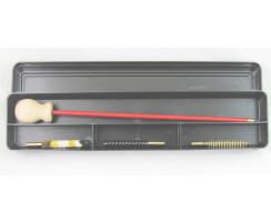 Kompaktes Putzzeug- Set für Kurzwaffen Kal. .38...