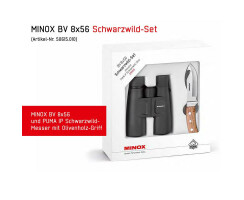 MINOX BV 8x56 Schwarzwild Set