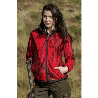 SHOOTERKING Softshelljacke MOSSY-RED für Damen Gr. L(6)
