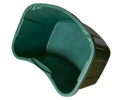 Jagdzubehörwanne 35L, grün 59x37x28 cm.