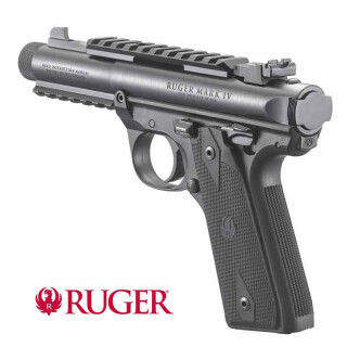 Ruger Mark IV 22/45 Tactical black