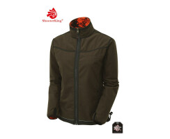 SHOOTERKING Digitex Damen Softshell Wendejacke blaze/braun